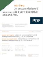 Ubuntu Type Styles and Formats