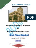Cours de Droit Pénal Général Pr Mady BOUARE-1
