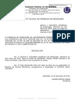 Calendário Academico 2019