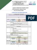 Jadwal Survei Akreditasi