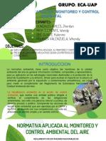 Monitoreo y Control Ambiental