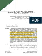 Humanismo Renacentists,Razon Univesal y Sociedad Humana en El Pensamiento Juridico de Vitoria