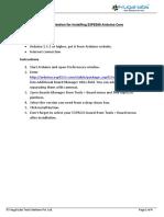 Documentation for Installing ESP8266 Arduino Core