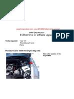 E46 M3 ECU Removal