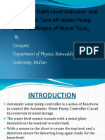Journal on Water Level Indicator
