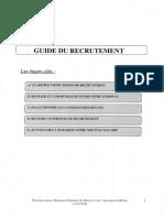 Tre Entretien Guide Du Recrutement