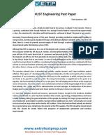 NUST Engineering Sample Past Paper 1