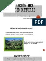 Planeación del espacio natural y urbano