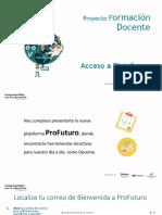 Acceso a Plataforma ProFuturo