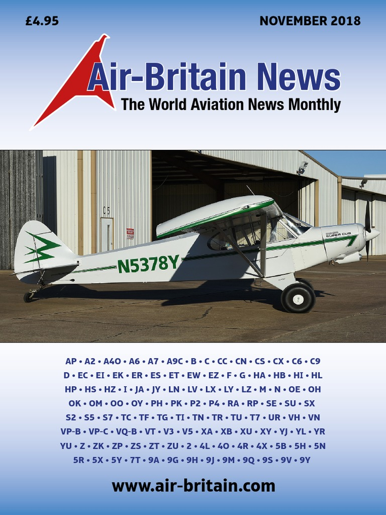 1db41166 Air.Britain.Magazine-November.2018.pdf | Aircraft | Transport Companies