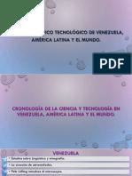 Ciencia y tecnología en Venezuela, América Latina y el mundo