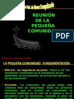 REUNIÓN E PEQUEÑA COMUNIDAD.ppt