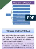 El Proceso Planificacion Estrategica