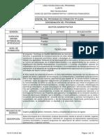 Programa Gestion Administrativa