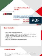 Procedimiento administrativos