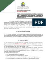 EDITAL 008 2019 Lei 3793 2014 Processo Seletivo Simplificado