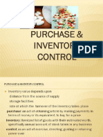 Dr. Masoom--Purchase and Inventory Control