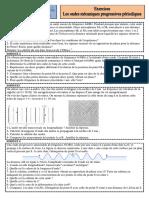 Exercices 1 Ondes Mécaniques Progressives Periodiques