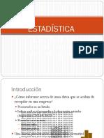 Sesión Estadística Descriptiva 2013 II