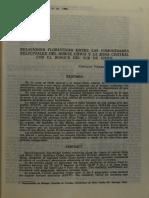 RelacionFloristicaRelictosNorteChico ZonaCentral ZonaSur. Villagrán, 1980