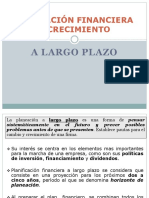 1.4 Planeación Financieros y Crecimiento