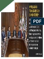 23-03-19 Impulsarán transparencia de Monterrey