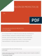 Modelo de Gestión de Proyectos - WBS
