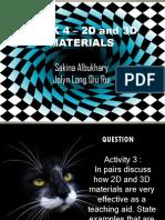 WEEK 4 _ 2D and 3D MATERIALS.pptx