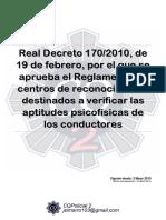 107 Rd 170 2010 Centros Reconocimiento Conductores