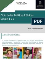 S07 y S08 - Ciclo de Políticas Públicas - F