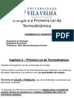 Aula 4 - Termodinamica - Energia e a Primeira Lei Da Termodinamica - 2017-2-20190311-1506