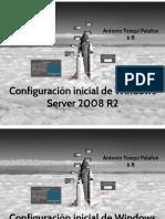 Configuración Iniciar Windows Server 2008 R2
