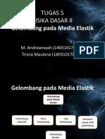 Gelombang pada media elastik