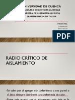 Radio Critico de Aislmaiemto