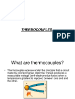 Thermocouple Type Instruments Construction Principle of Operation _