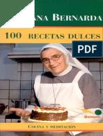 100 Recetas dulces- Cocina y meditacion-Hermana Bernarda.pdf
