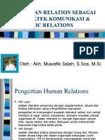 2-Human Relations Development Muwafik UB