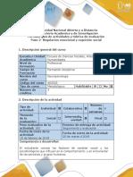Guía de actividades y rúbrica de evaluación-Paso 2- Regulación emocional y cognición social (1).docx