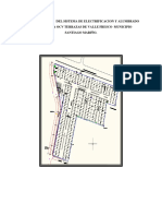 Colocación Del Sistema de Electrificacion y Alumbrado Publico en urbanismo Municipio Santiago Mariño Final