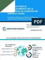 Desafios Para El Fortalecimiento de La Resiliencia en Ciudades de America Latina - Dr. Boris Utria