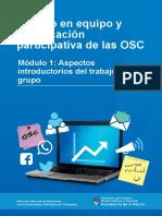 aspectos introductorias del trabajo en grupo