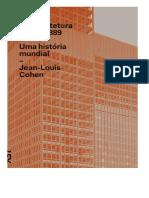 O Futuro Da Arquitetura Desde 1889