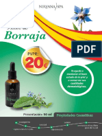 Ficha Aceite Borraja 50 Ml Nirvana Spa