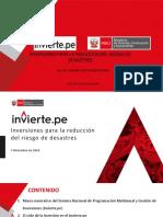 Proyectos Para La Reducción de Riesgo de Desastres - Ing.adhemir Ramírez Rivera