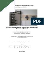 Dissertação - Projecto dum Laboratório Remoto para Automação de Processos Industriais.pdf