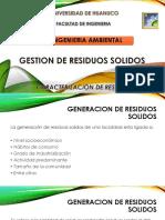 4. Generacion y Caracterizacion de Residuos Solidos
