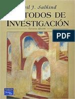 Metodología de La Investigción -Salkind Indice