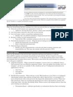 Network Dna Network Documentation Checklist