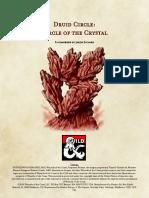 Circle of the Crystal - Druid Circle