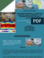 Presentacion Articulo Variabilidad Climatica Colera